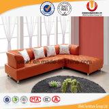Sofà moderno del cuoio dell'angolo del salone per la casa (UL Z5516)