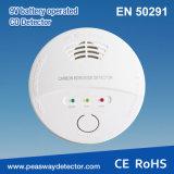 Alarma del Co del detector de monóxido de carbono de Peasway con la certificación En50291 (PW-918A)
