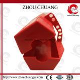 Verrouillage raboteux coloré de fiche de polypropylène avec le cadenas de sûreté