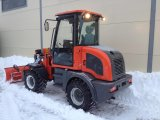 800kg Loading Agricultural Wheel Loader Er08 con Snow Bucket