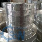 Flange cega de encaixe de tubulação do alumínio B221 1060