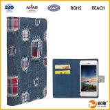 Productos calientes de la caja de cuero de la PU nuevos para el teléfono celular