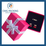 Caixa de jóia da combinação com fita de seda (CMG-MAR-002)