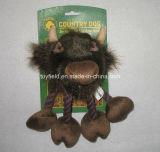밧줄 개 장난감 암소 Squeaker 공급 제품 애완 동물 장난감