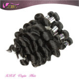 Нежность и Smooth Natural Black Unprocessed индийское Hair Wholesale