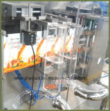 Máquina de embalagem automática cheia dos petiscos