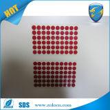 주문 Die Cut Water Sensitive Sticker 또는 Water Indicator Sticker