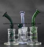Czs169 11 de Rokende Pijp van het Glas van de duim '' met Recycleermachine