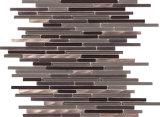 Mosaico di striscia del mosaico della pietra del marmo delle mattonelle di pavimento del mosaico