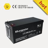 Batería de almacenaje profunda de la batería de la UPS del ciclo 12V 200ah
