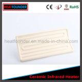 Venda quente placa cerâmica industrial elétrica personalizada do calefator