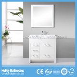 Mobilier de salle de bains en bois massif classique à vendre américain (BV115W)