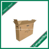 Boîte de empaquetage de grande taille durable de papier ondulé