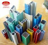 Piezas de aluminio coloridas de las paredes de partición de la cortina del material de construcción
