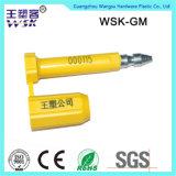 Zhejiang-Vorhängeschloss-Fabrik-Großverkauf-Plastikeinspritzung Contanier Schrauben-Dichtung (RFID)
