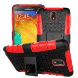 Caja a prueba de choques híbrida del teléfono de la alta calidad para Samsung Note3