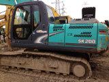 Saleのための使用されたKobelco Sk200-8 Crawler Excavator Sk200-8