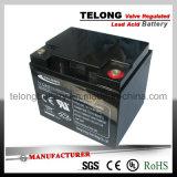 La válvula reguló la batería de plomo para el sistema 12V45ah de la UPS
