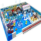 Children를 위한 2016 최신 Sale Snow Theme Amusement Naughty Fort