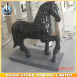 Base를 가진 손 Carved Stone Horse Sculpture