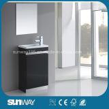 Vanità italiana della stanza da bagno del MDF di nuova vendita calda con lo specchio
