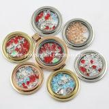 도매 형식 동전은 로켓 펜던트를 위한 보석을 도금한다