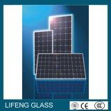 glace solaire de 4mm pour le modèle solaire, glace Tempered de fer inférieur