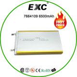 7664109 Li-Po bateria do polímero da bateria recarregável 3.7V