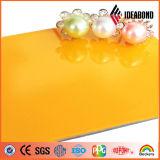 Revestimento lustroso elevado projetado novo da parede de cortina de Ideabond PVDF ACP para a decoração exterior do fornecedor de China