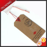 Jeans를 위한 Sinicline Eco Friendly Brand Design Kraft Paper Vintage Hang Tag