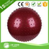 体操のヨガのマッサージの球、PVCマッサージの球