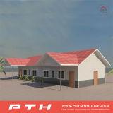 주문을 받아서 만들어진 편리한 살아있는 다중 이야기 Prefabricated 별장 집