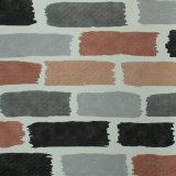 Het binnenlandse 3D Behang van het Document van de Bakstenen muur van het Decor Kleurrijke