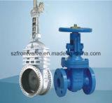 Válvulas de porta do aço de molde e do ferro de molde