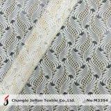 Tissu en nylon de lacet de coton élégant à vendre (M3394)