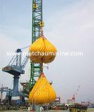 Pescante de grúa de carga de prueba bolsa de agua Pesos odres