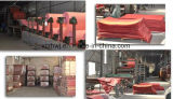 Papel de fibra vulcanizada en la hoja roja Colour2016 Nuevo Tipo de aislamiento de fibra vulcanizada