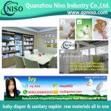 Hoogste Hydrofiel van de Rang niet Geweven voor de Grondstoffen van de Luier van de Baby
