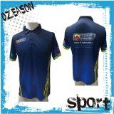 Neues heißes verkaufensublimationmens-Polo-Jersey-Hemd angepasst
