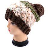 Den klumpigen KnitsVeganknit-Hut mit der Hand stricken handgemachten Wannen-Hut