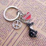 La catena chiave a forma di dell'automobile, Metal l'anello chiave (GZHY-KA-035)
