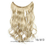 Hotsale synthetisches Haar-loses Wellen-einschlagkippen in der Haar-Extension