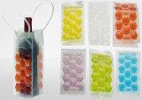 Sac coloré respectueux de l'environnement de vin de PVC, sac de PVC Gife, sac de main de PVC