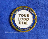 Soft su ordinazione Enamel Golf Ball Marker con Logo (GBM-10)