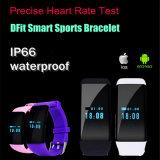 Pulsera de reloj impermeable del ritmo cardíaco de Bluetooth