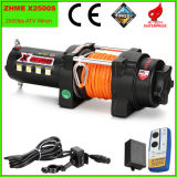 2500lbs Auto Electric Winch mit Synthetic Rope