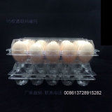 PVC Egg Container Packing Box (bandeja plástica)