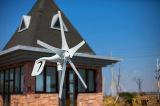 Ce keurde Turbine van de Windmolen van 5 Bladen de Horizontale goed