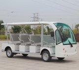 La fábrica de China suministra el omnibus de visita turístico de excursión eléctrico de 11 asientos el certificado del Ce (DN-11)