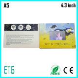 Niedriger Preis-Einladung LCD-videogruß-Karte für Geschäfts-fördernde Geschenke